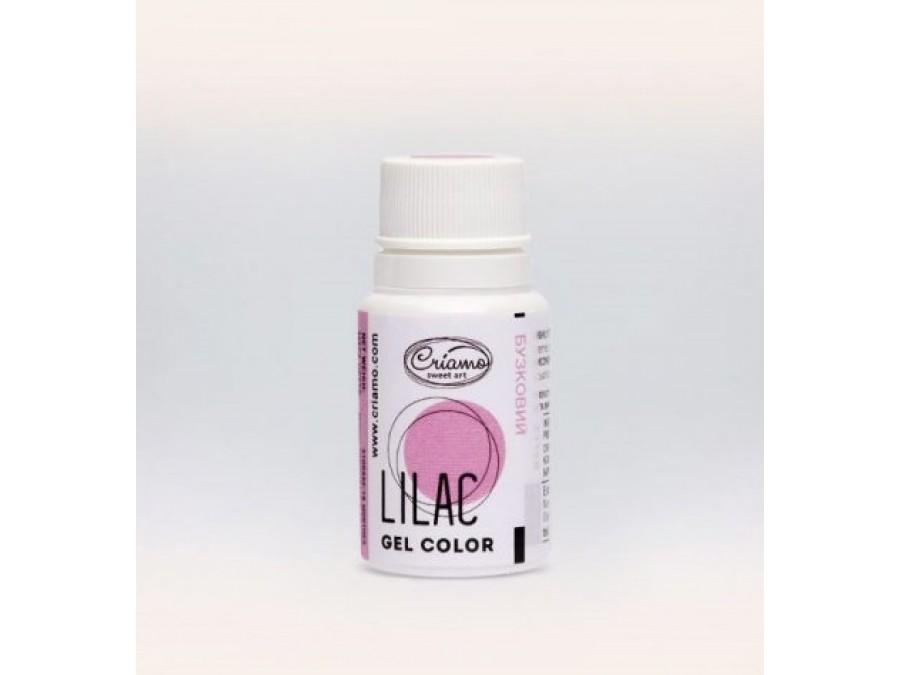 Краситель гелевый Criamo 10г Сиреневый /Lilac