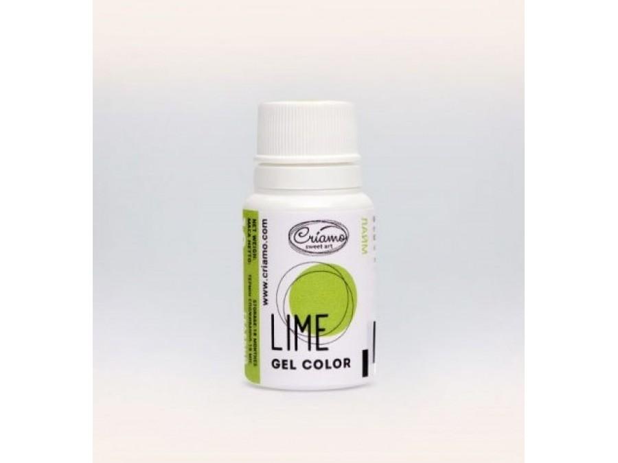 Краситель гелевый Criamo 10г Лайм/Lime