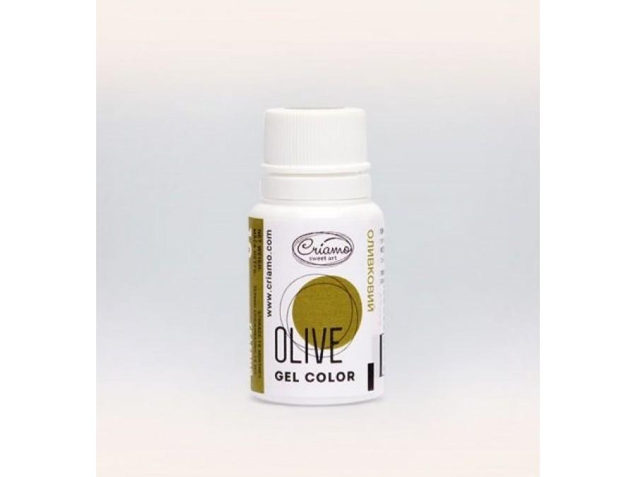 Краситель гелевый Criamo 10г Оливковый/Olive