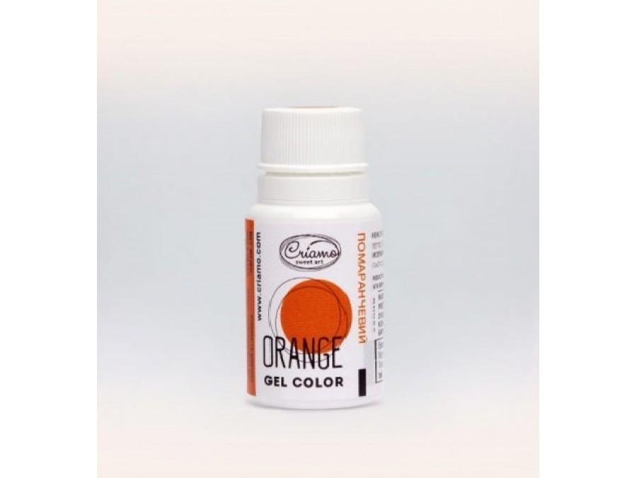 Краситель гелевый Criamo 10г Оранжевый/Orange