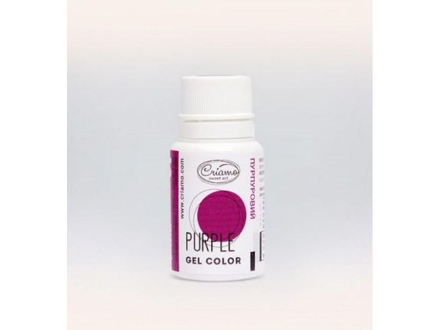 Краситель гелевый Criamo 10г Пурпурный/Purple
