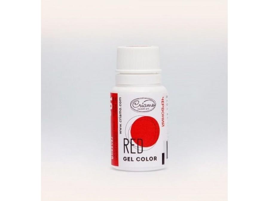 Краситель гелевый Criamo 10г Красный/Red