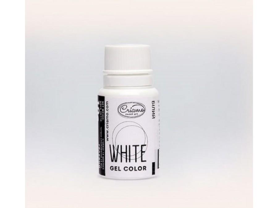 Краситель гелевый Criamo 10г Белый/White