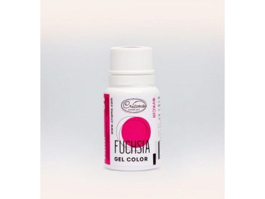 Краситель гелевый Criamo 10г Фуксия/Fuchsia