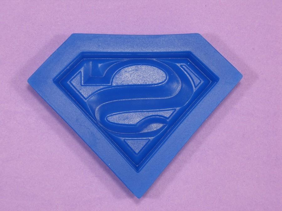 """Силиконовый молд """"Супермен лого"""""""