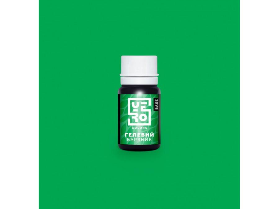 Краситель гелевый Yero Colors Зеленый 10 г