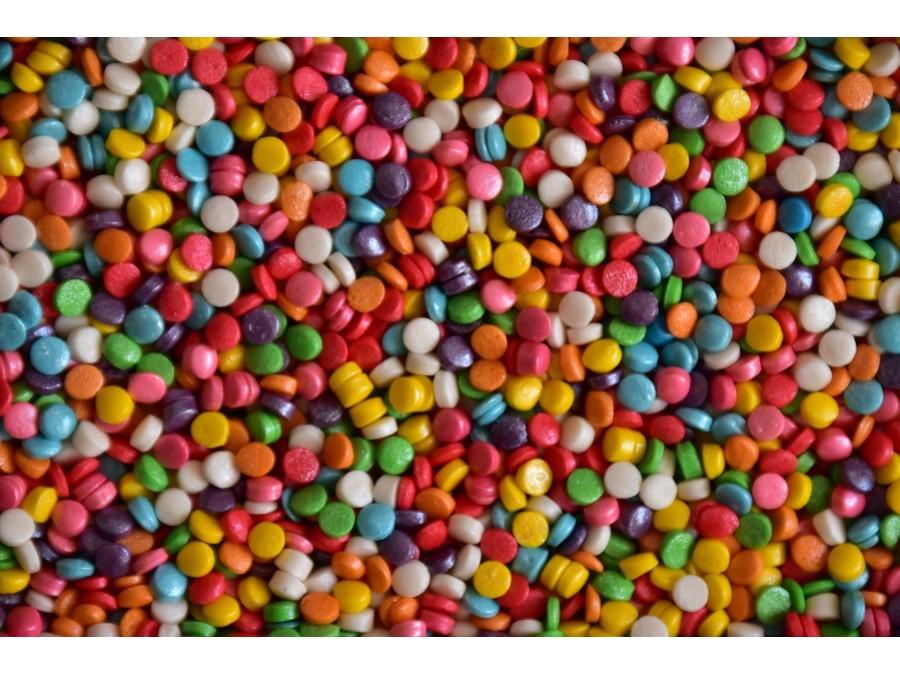 """Посыпка сахарная перламутровая """"Конфетти"""" (разноцветные) - 50 г"""
