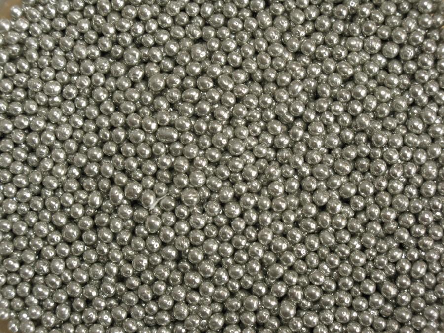 Посыпка сахарная 2(3) мм - Шарики Серебро 100 г