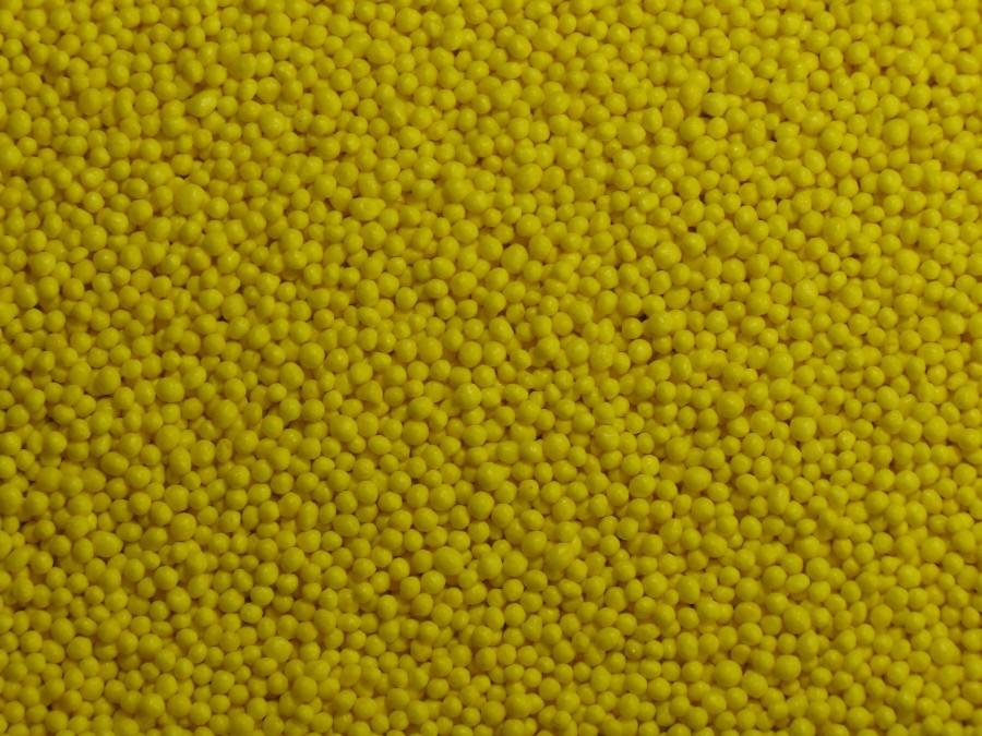 "Посыпка сахарная ""Горошек"" желтый 1 мм - 100 г"