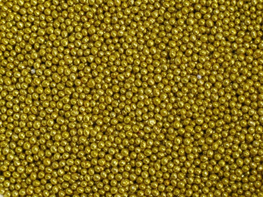 Посыпка сахарная 2(3) мм - Шарики Золото 20 г